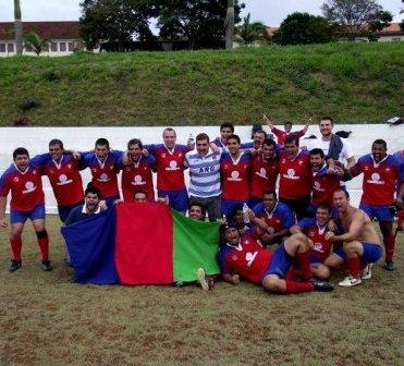 Capivaras fazem 20 a 0 no Uberlândia e terminam em quinto no Estadual de Rugby