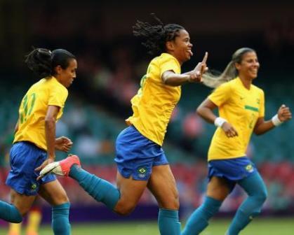 Read more about the article Londres 2012: Seleção feminina goleia Camarões por 5 a 0