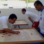 Clássicos familiares: em 2010, Sidney joga com o filho Rondinelly. Atrás, os irmãos Edson e Eustáquio. Clique na foto para ampliar (Foto: Facebook do Futrica)
