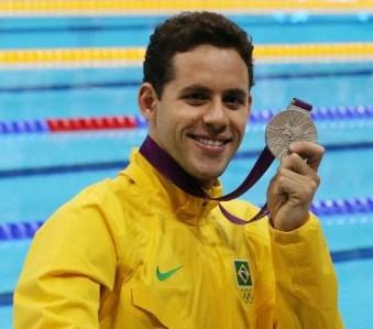 Read more about the article Londres 2012: Thiago Pereira bate Michael Phelps e fica com a prata nos 400 medley