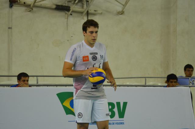 Gelinski é convocado para Seleção Sub-23