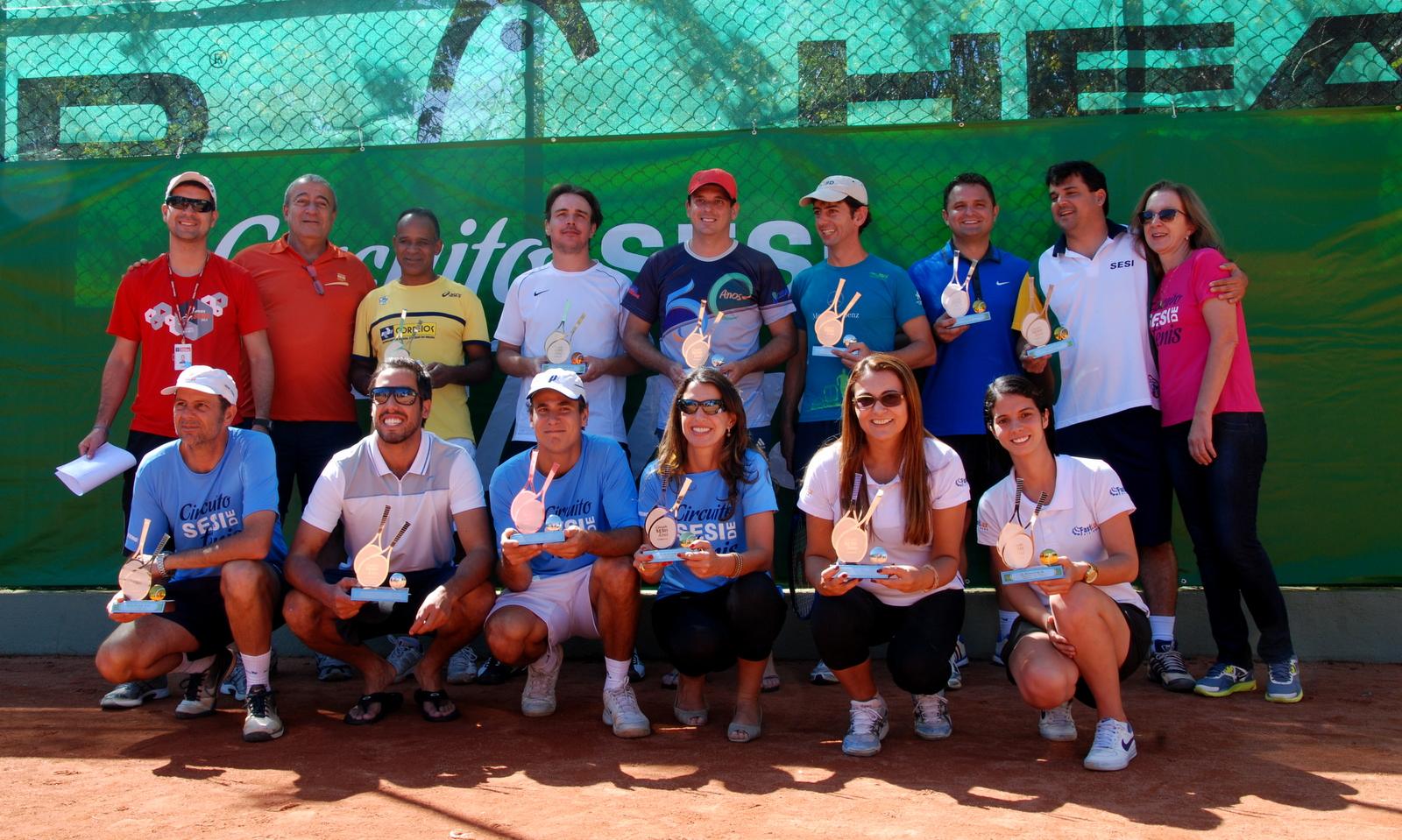 Tênis define título da BD nos Jogos Sesi. Veja galeria de fotos