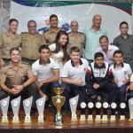 Colégio Militar terminou em primeiro lugar na classificação geral (Foto: Assessoria PJF)