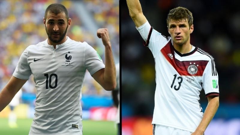 Rivais históricos de guerra, França e Alemanha travam batalha por 'território' no Rio