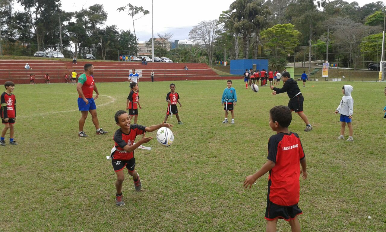 Read more about the article Projeto Try Rugby MG encontra boa receptividade em Juiz de Fora