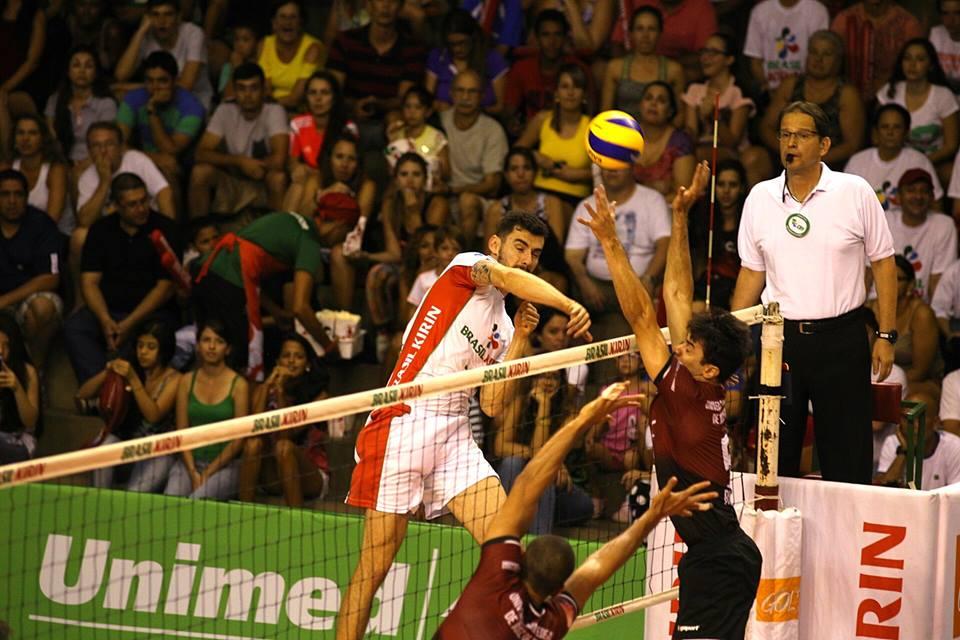 Read more about the article UFJF não resiste ao Brasil Kirin em Campinas: 3 sets a 0