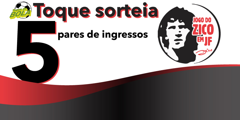 Read more about the article Zico em JF: veja como concorrer a ingressos com o Toque de Bola. Zinho, Beto e Cláudio Adão anunciados