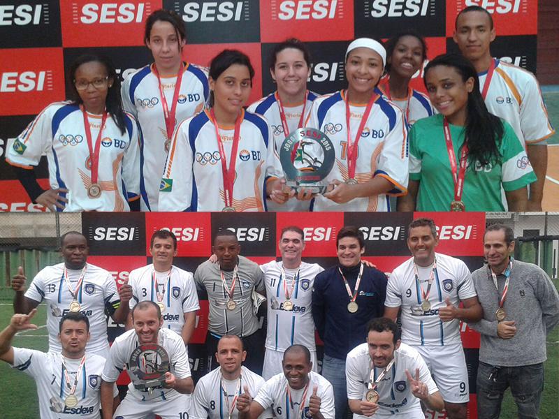 Esdeva e BD são campeãs na Fase Regional dos Jogos Sesi