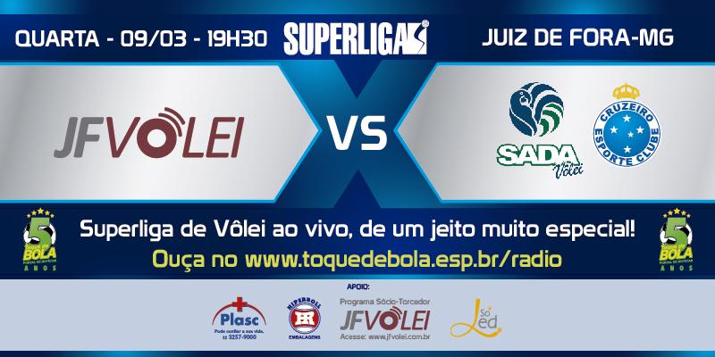 Read more about the article JF Vôlei recebe o forte Sada Cruzeiro nesta quarta às 20h. Toque transmite