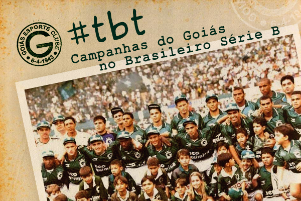 Read more about the article Três acessos e dois títulos: veja como foram as quatro participações do Goiás no Brasileirão da Série B
