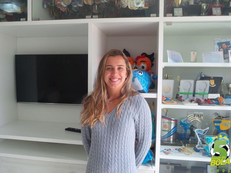 """Exclusivo! Larissa Martins de Oliveira abre o jogo no Toque de Bola e já mira Tóquio 2020: """"Começa um novo ciclo"""". Também em vídeo"""