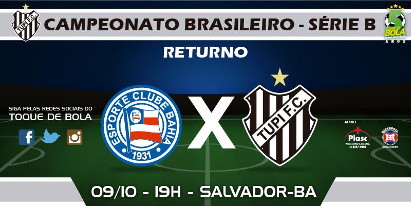 Read more about the article Em domingo de Série B, Tupi e Bahia medem forças na Arena Fonte Nova