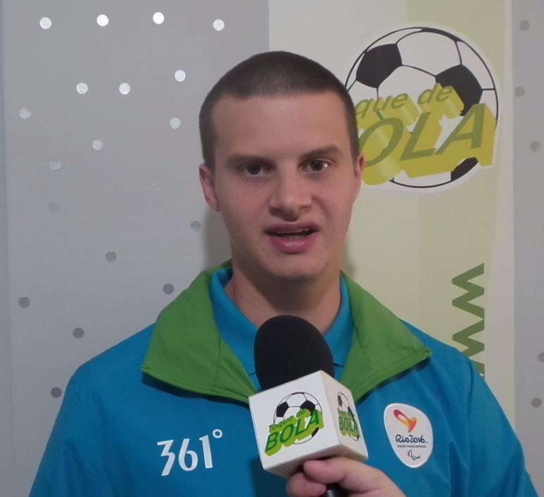 Tem vídeo no Toque! Igor Monteiro, o primeiro árbitro assistente com paralisia cerebral do futebol de 7 nas Paralimpíadas