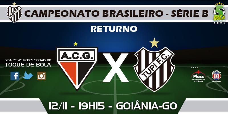 Final? Confronto entre Atlético-GO e Tupi será de decisão para os dois times