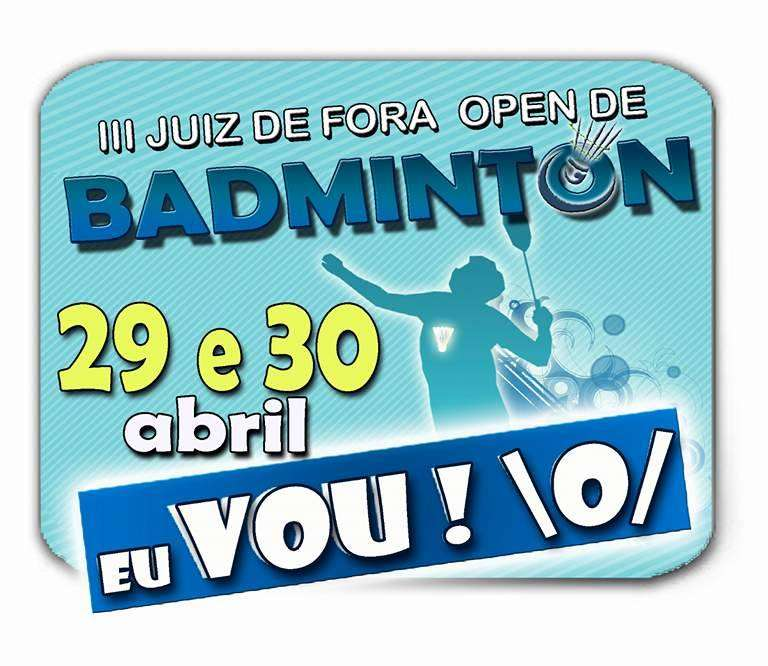 JF Open de Badminton no Sesc Campestre