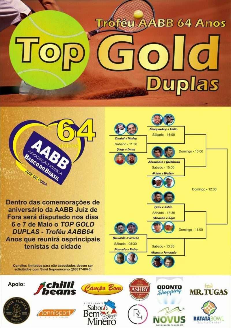 Tênis é atração na AABB Juiz de Fora