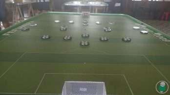 O Futebol de Mesa foi inventado em 1930 pelo brasileiro Geraldo Cardoso Décourt