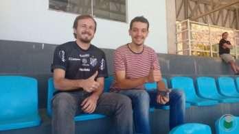 Gabriel e Conrado: torcida do Carijó dá uma força aos impeeradores