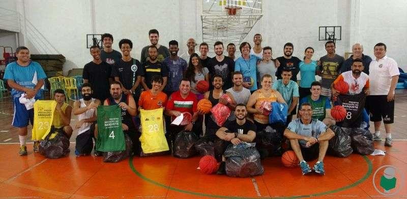 Com vídeo! Curso na Faefid-UFJF aponta para fortalecimento do basquete na cidade e região