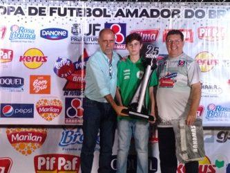 Taça Disciplina para o Sport Club Juiz de Fora (Categoria Mirim)