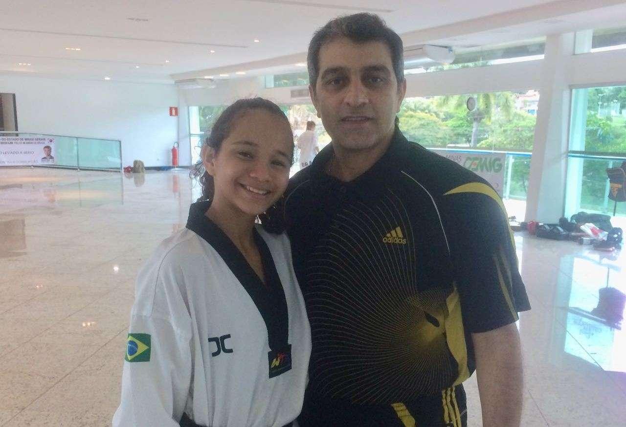 Guerreirinha do taekwondo Danielly busca ensinamentos do Irã e mira 2018 vitorioso
