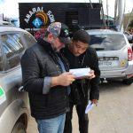 Integrantes do IBDN avaliando informações dos questionários aplicados