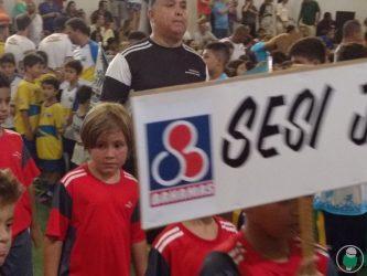 O Sesi é uma das entidades representadas na competição