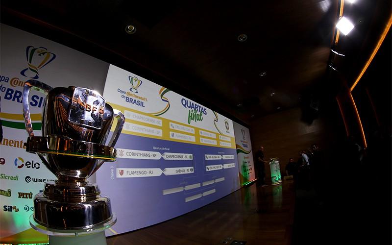 Quartas da Copa do Brasil têm Grêmio x Flamengo