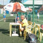 Adonise José Ribeiro, da equipe de arbitragem