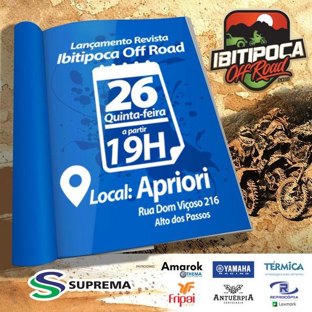 Ibitipoca Off Road tem lançamento da revista oficial