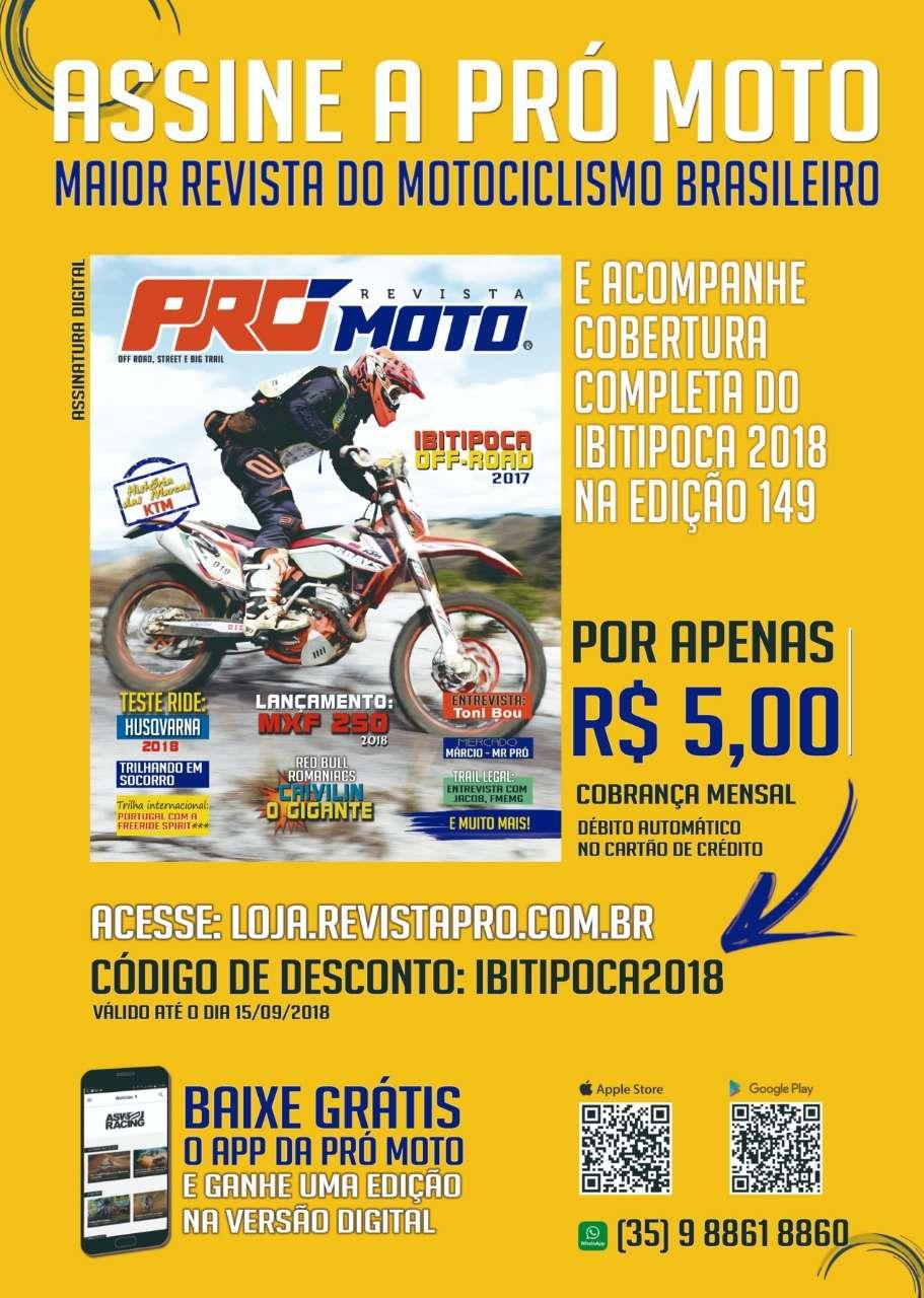 Olha a promoção da Pró-Moto, parceira IOR