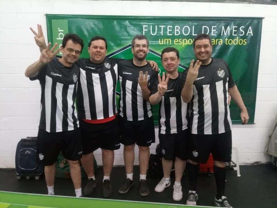 Tupi conquista tricampeonato brasileiro de futebol de mesa três toques