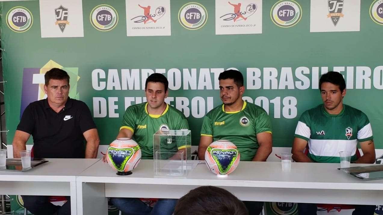 Brasileiro de Fut-7! Muita bola rolando no CFZ-JF de sexta a domingo