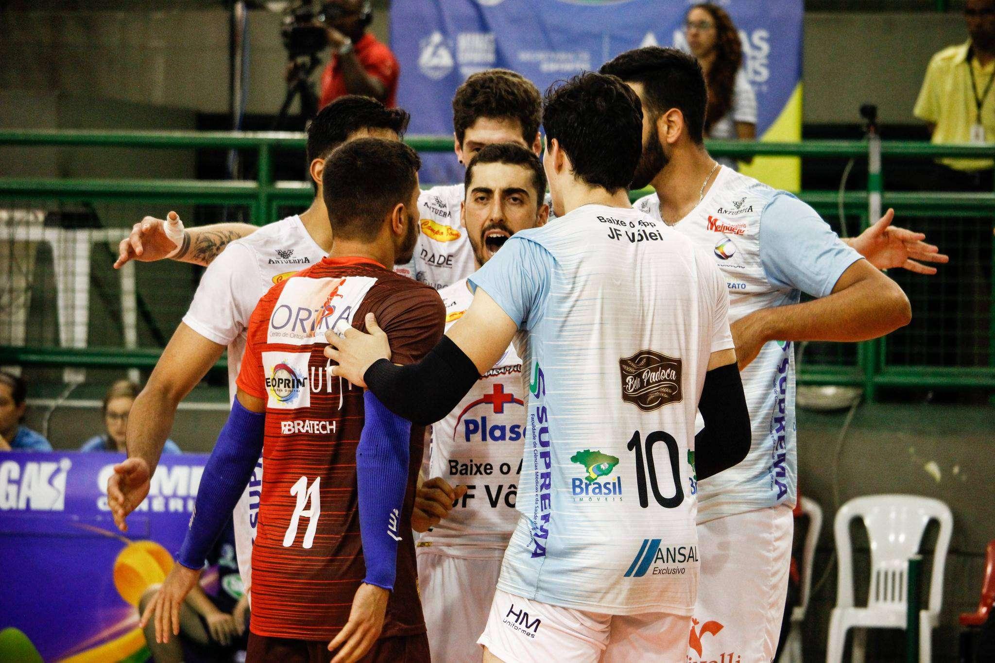 Read more about the article Semifinal! JF Vôlei encara Sada/Cruzeiro em Contagem pelo Mineiro