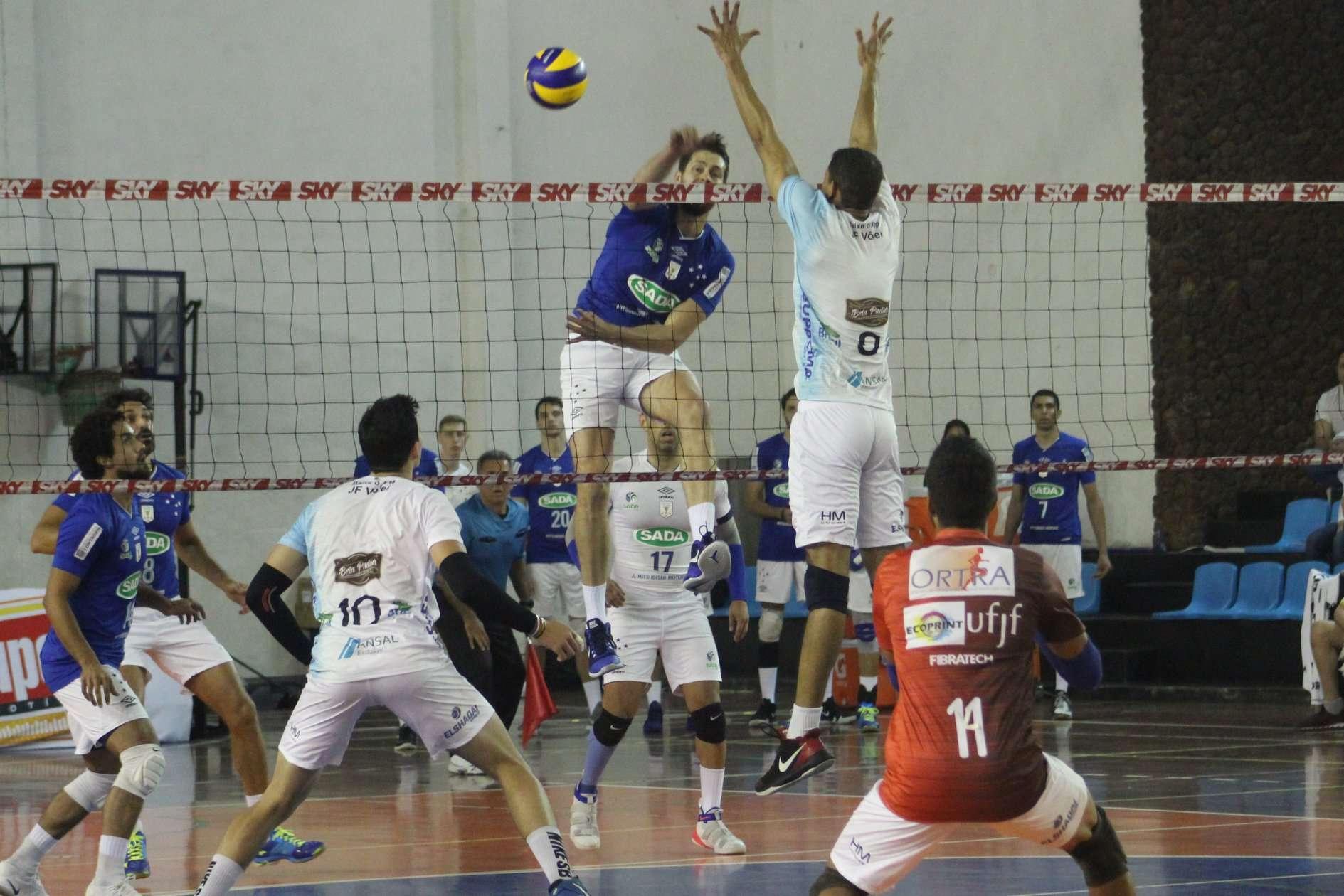 Em Contagem, JF Vôlei encerra participação na primeira fase do Mineiro