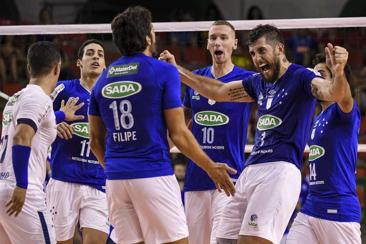 Fim de Estadual! JF Vôlei termina sem vencer; Sada/Cruzeiro é campeão