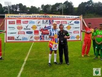 Riquelme foi premiado pelo gol do título