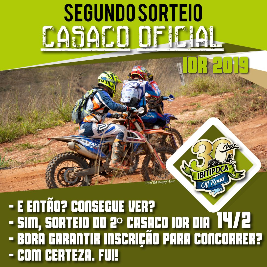 Read more about the article Novo sorteio de casaco! Confira todas as categorias nas motos