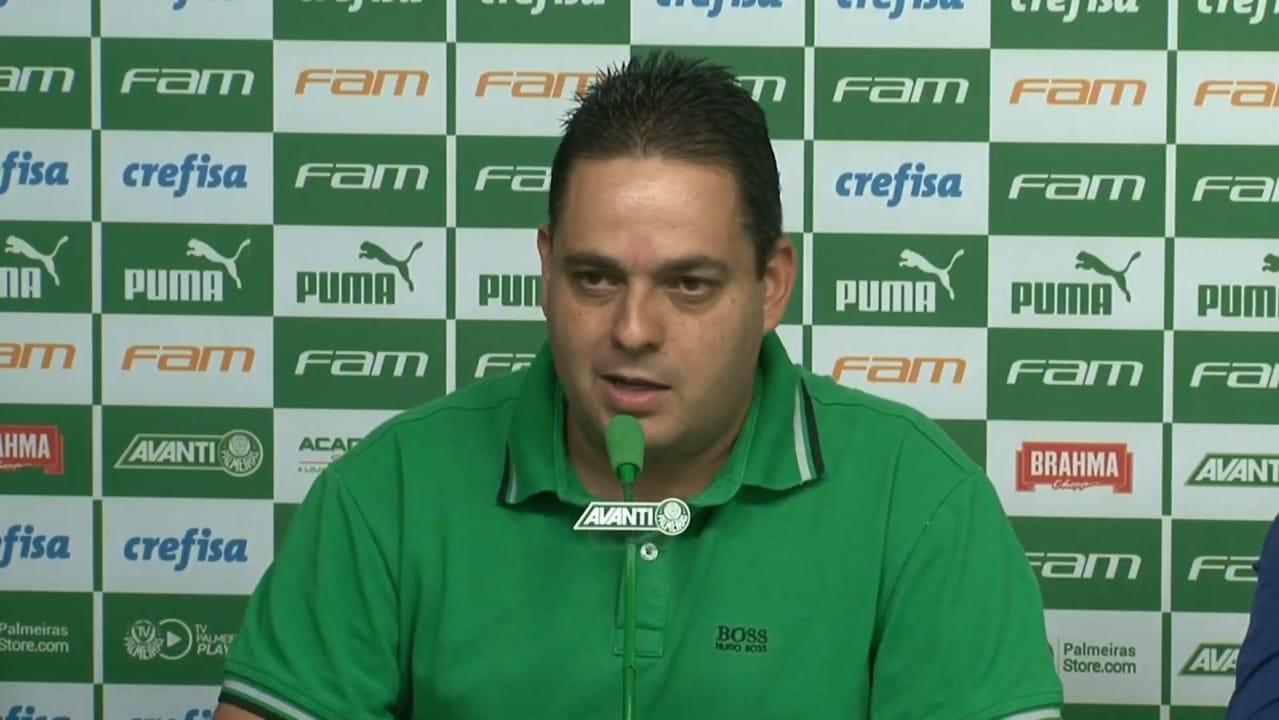Já vai? Simão é o novo executivo de futebol feminino do Palmeiras