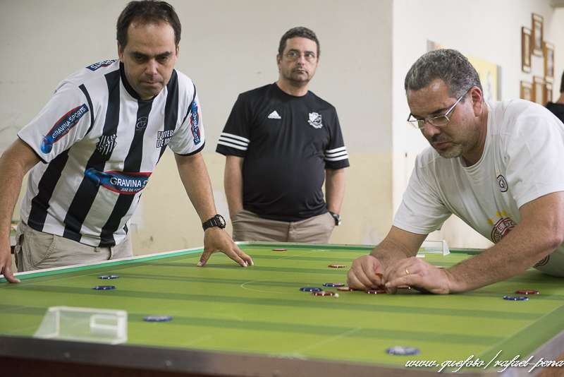Tupi sedia Mineiro de Futebol de Mesa Três Toques