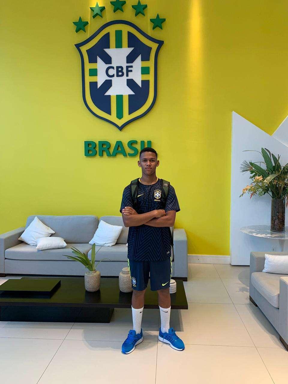Read more about the article Sub-17: juiz-forano Guilherme está no grupo da seleção em Teresópolis!