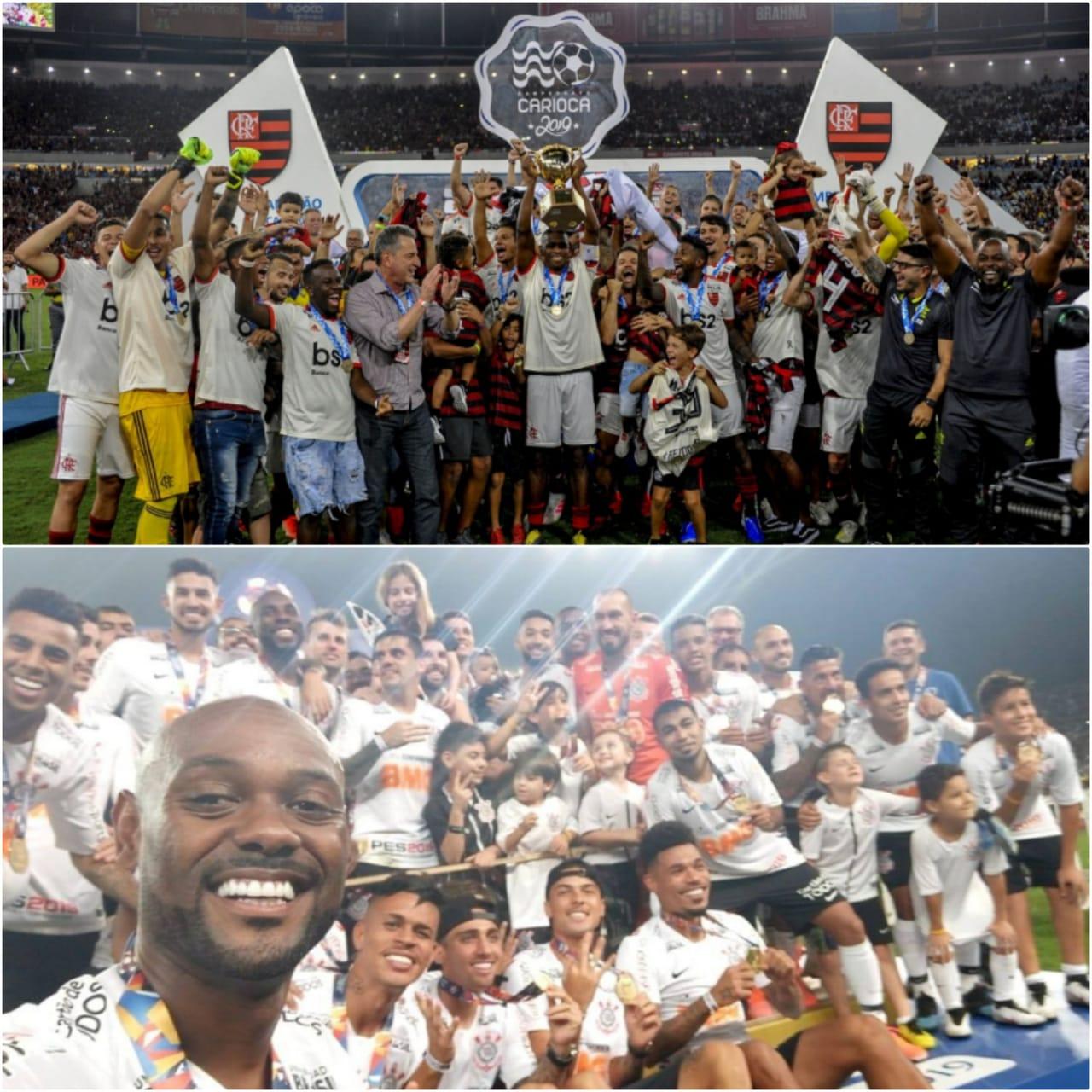 Solta o grito! Fla e Corinthians puxam a fila dos campeões estaduais