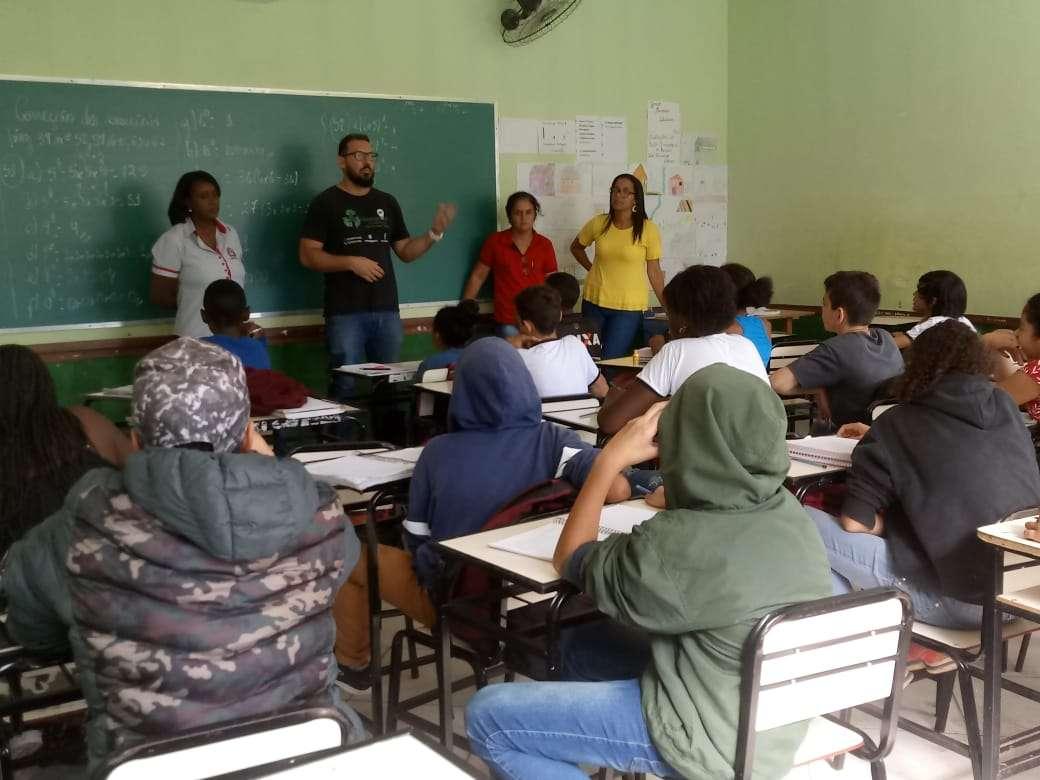 Parceria IOR e Prefeitura gera palestras e gincana nas escolas de Lima Duarte