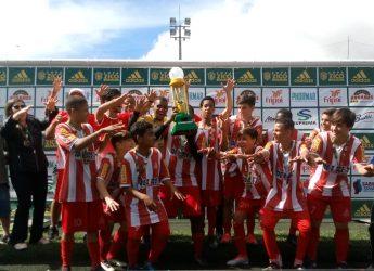 América Rio Pomba, campeão no sub-14