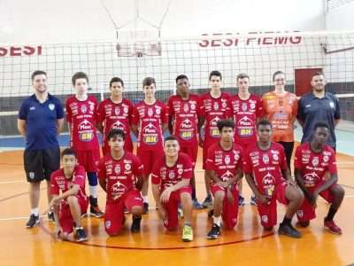Read more about the article Sesi/JF Vôlei no Mineiro sub-15