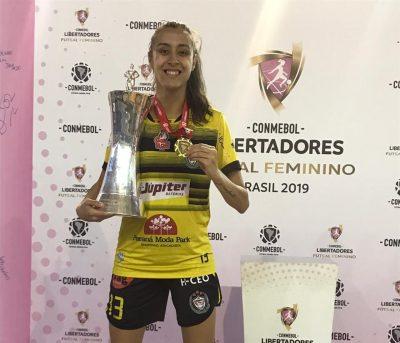 Read more about the article Marina é campeã da América!