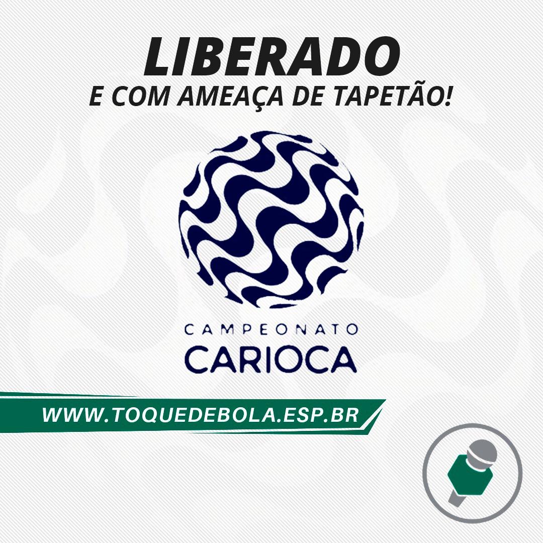 Read more about the article Carioca: volta deve parar no tapetão!