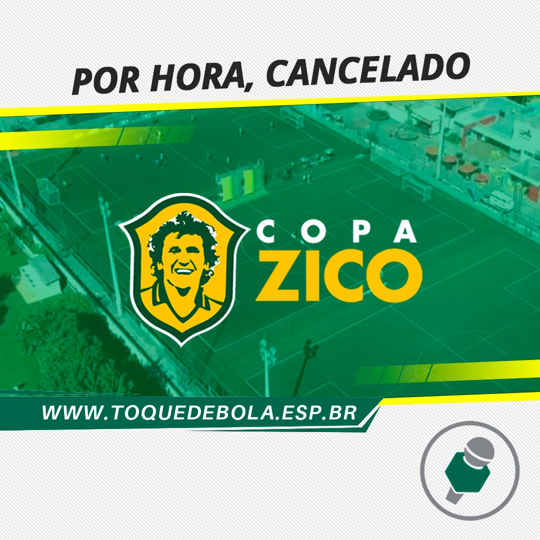 "Copa Zico ""cancela"" julho e ""confirma"" dezembro"