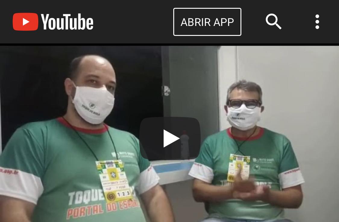 Read more about the article Pós-jogo: Baeta vira no fim. Direto da cabine