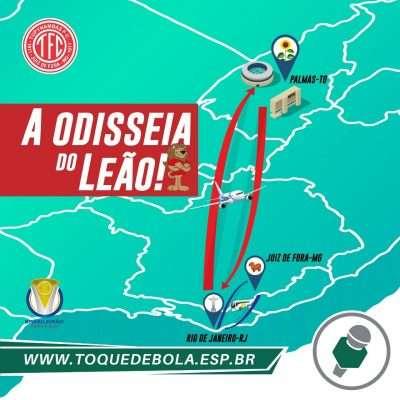 """Read more about the article A odisseia do Baeta em busca de três pontos """"logo ali"""", no Tocantins!"""